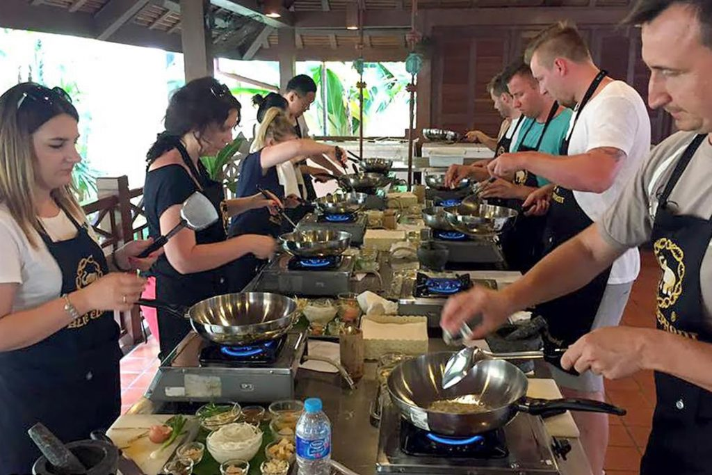 vegetarian cooking chiang mai