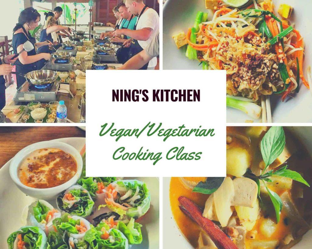 vegan vegetarian cooking class chiang mai